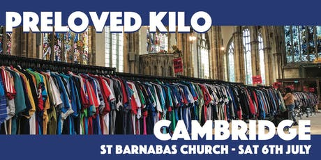 Cambridge  Preloved Vintage Kilo tickets