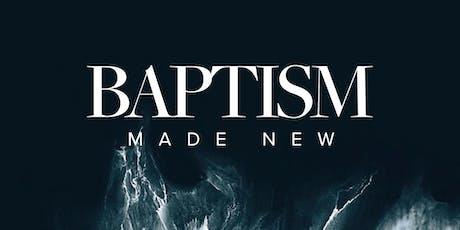 Baptism Sunday | 29 September tickets