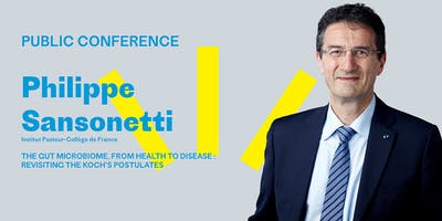 Philippe Sansonetti - Public conference in Helsinki on 25th June