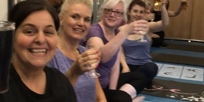 Poses & Pints! Beer (or Prosecco) Yoga at Steamtown Brew Co