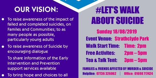 Lets Walk and Talk About Suicide 2019