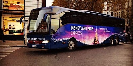 Disneyland Paris: 1-Day Ticket + Transport from Paris tickets