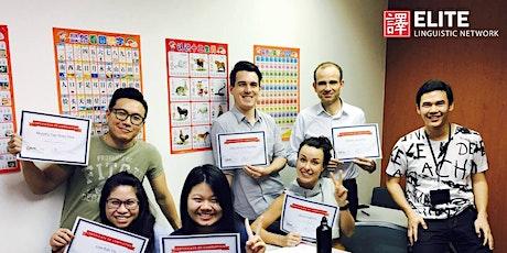 Conversational Chinese (Beginner Term 1) Course @ Jurong East tickets