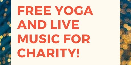 Free Yoga and Live Music tickets