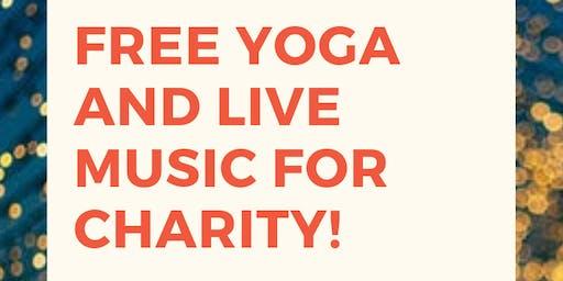 Free Yoga and Live Music