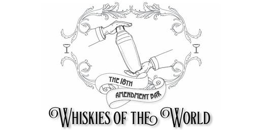 Whiskies of the world - Tastes of Central Geelong Collaboration