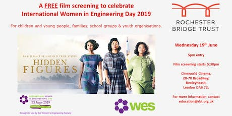 Family Film Screening INWED 2019: Hidden Figures tickets