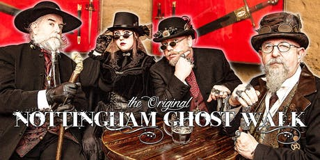 The Nottingham Ghost Walk - Wednesday Walks tickets