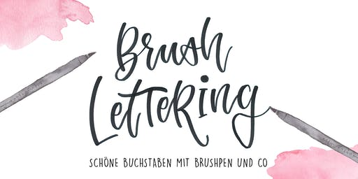 Workshop: Brushlettering - Die Basics