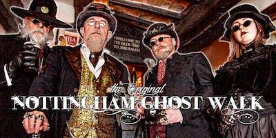 The Nottingham Ghost Walk - July to September 2019