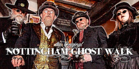 The Nottingham Ghost Walk - July to September 2019 tickets
