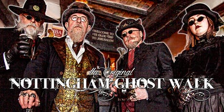 The Nottingham Ghost Walk - October to December 2019 tickets
