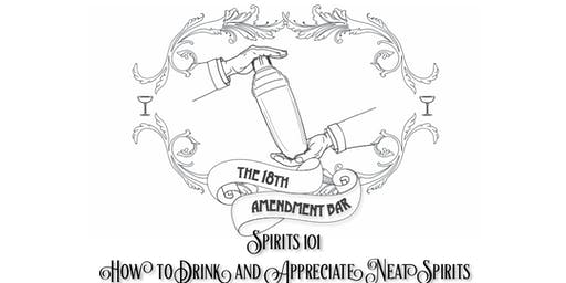 Spirits 101, How to Taste and Enjoy Neat Spirits -Tastes of Central Geelong
