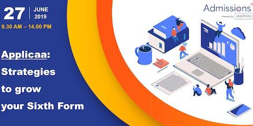Applicaa: Strategies to grow your 6th Form Marketing & Enrolment Workshops
