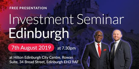 Edinburgh Investment Seminar on Buy2LetCars tickets