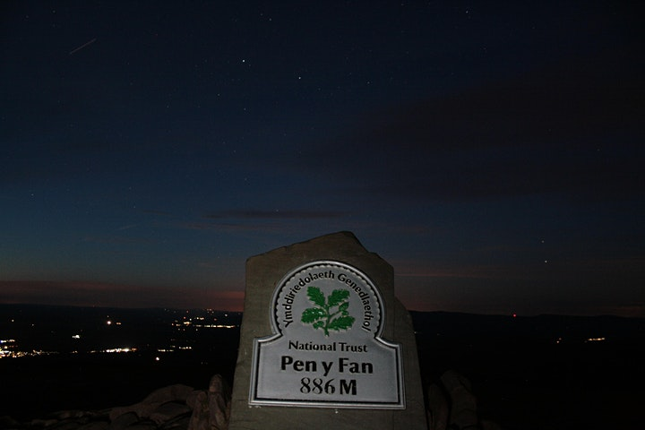 Night Hike on Pen Y Fan image