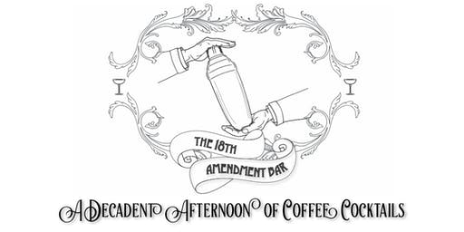 Coffee Cocktail Flight
