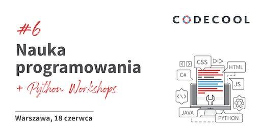 Nauka Programowania + Python by Codecool Warszawa 18.06.2019