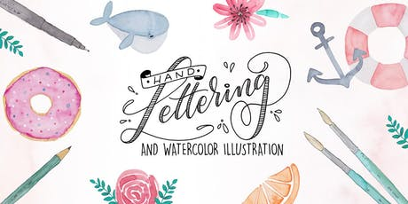 Workshop: Handlettering & Watercolor Illustration Tickets