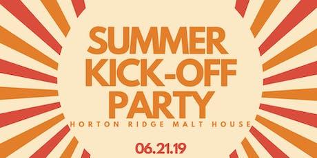 Summer Kick-Off tickets