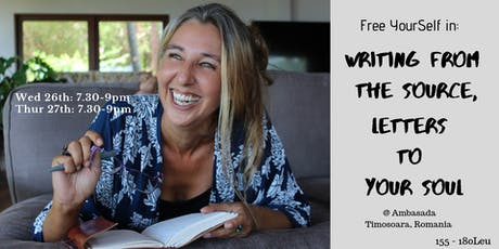 Free YourSelf in: Writing from The Source, Letters to Your Soul tickets