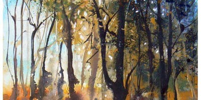 Watercolour Landscape Workshop - Beautiful woodland and views from Kingdom