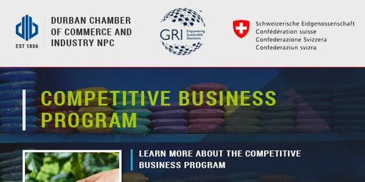 GRI Competitive Business Program - 19 June 2019