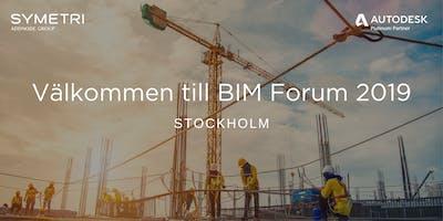 Symetri BIM Forum 2019 - Stockholm