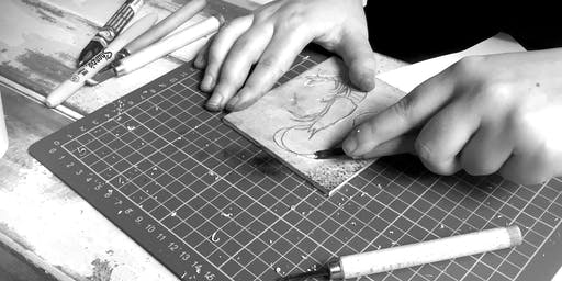 Linocut Printmaking for Teens (Ages 13+)