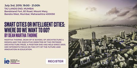 Smart cities or intelligent cities: Where do we want to go? - Mumbai tickets