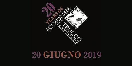 20 anni di Accademia Di Trucco Professionale biglietti