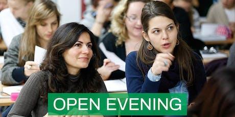 CNM Dublin - Free Open Evening tickets
