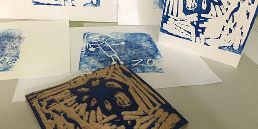 Learn to Print! Stamp Carving (Ages 5-12)