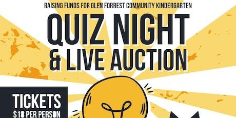 Glen Forrest Community Kindy Quiz Night tickets
