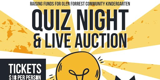 Glen Forrest Community Kindy Quiz Night