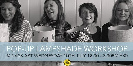 Pop Up Lampshade Workshop tickets
