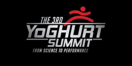 The 3rd Yoghurt Summit tickets