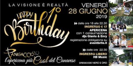 Happy Birthday Panigaccio 2.0 biglietti