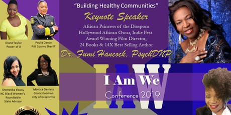 I am We:  Building Healthy Communities tickets