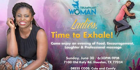 Ladies, Time to Exhale!! tickets