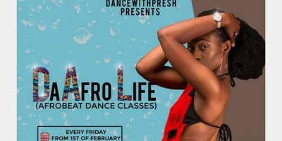 The-Afro-Life (Afrobeat dance class)