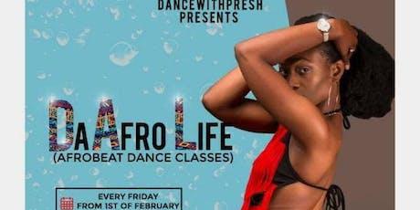 The-Afro-Life (Afrobeat dance class) tickets