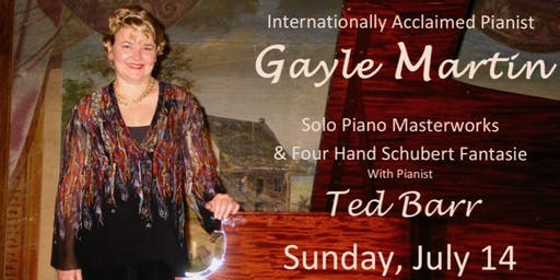 Gayle Martin - Internationally Acclaimed Pianist