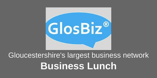GlosBiz® Business Lunch: Wednesday 17 July, 2019, 12noon-2pm, The Mayflower Restaurant, Cheltenham