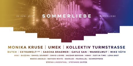 SOMMERLIEBE FESTIVAL 2019 #NEUELIEBE Tickets