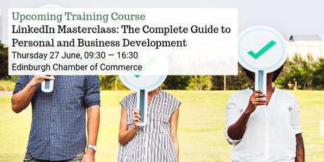 LinkedIn Masterclass: The Complete Guide to Personal and Business Development tickets
