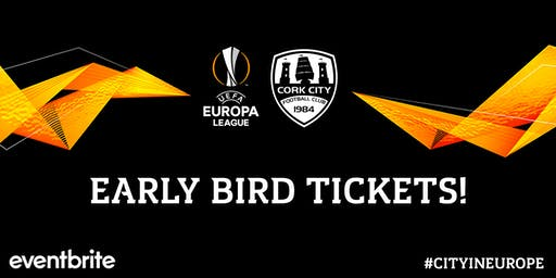 Europa  League: Cork City FC v TBC