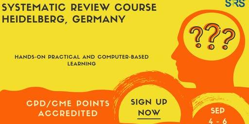 The Heidelberg Systematic Review Course 2019