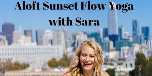 Aloft Sunset Flow Yoga