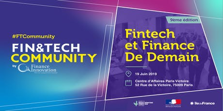 Fin&Tech Community 9e édition billets